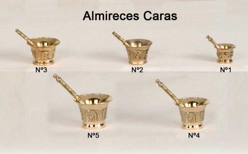 Almireces Caras - 5 Tamaños