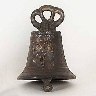 Campana Cristo, fabricada en Bronce