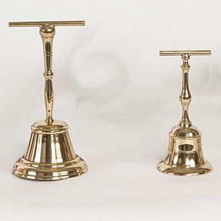 Campanas de T Lisas, fabricadas en Bronce