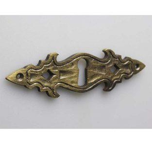 10 piezas escudo de llave bocallave metal alta calidad bruñido refinado