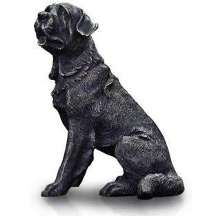 Escultura de Bronce Perro